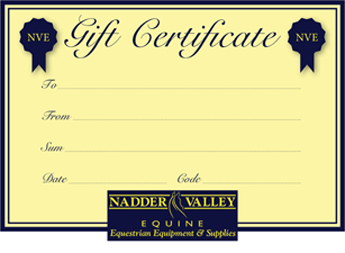 Nadder Valley Equine Gift Certificate